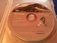 Audi Navigation plus (RNS-E) DVD Sat Nav Disc - Version 2010 West A3 A4 A6 TT