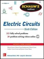 Schaum's Outline of Electric Circuits, 6th edition (Schaum's Outline Series), Ed