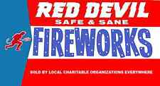 Firecracker label poster Red Devil Style #3