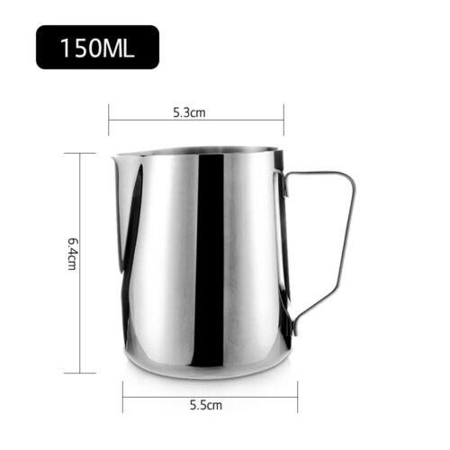 Edelstahl Milch Handwerk Kaffee Latte Aufschäumen Kunst Krug Krug Becher Tasse