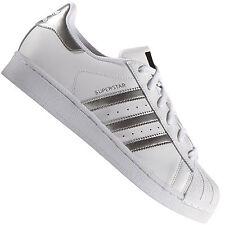 adidas original superstar blanc et argent