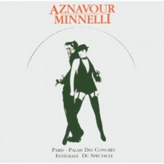 CHARLES AZNAVOUR/LIZA MINNELLI - LIVE IN PARIS-PALAIS DES CONGRES 2 CD POP NEU