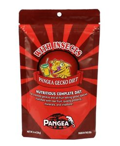Pangea Fruit Mix™ With Insects Complete Gecko Diet / Gecko Food - All sizes
