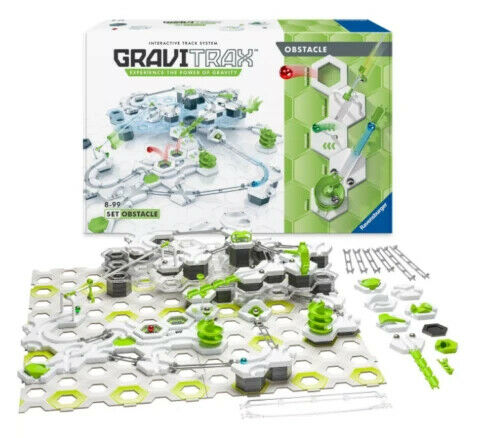 Ravensburger GraviTrax Obstacle Course Set 186pc  # 268665-  NEW- STEM