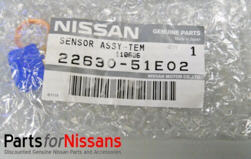 GENUINE NISSAN 1990-1995 300ZX Z32 COOLANT TEMPERATURE SENSOR NEW OEM TEMP