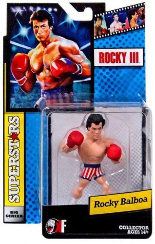 ROCKY III GRANDE SCHERMO SUPERSTARS Rocky Balboa Mini Figura USA BAULI