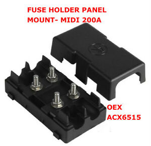s l300 1x fuse holder panel mount midi 200 amp midi fuse holder panel mini fuse box at soozxer.org