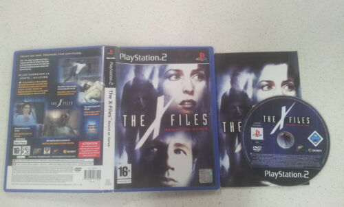The X Files Resist or Serve Sony PS2 With a Manual PAL Version