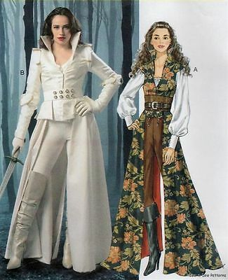 McCalls M6819 SEWING PATTERN 6-14 FAB Once Upon a Time Snow White Costume Corset