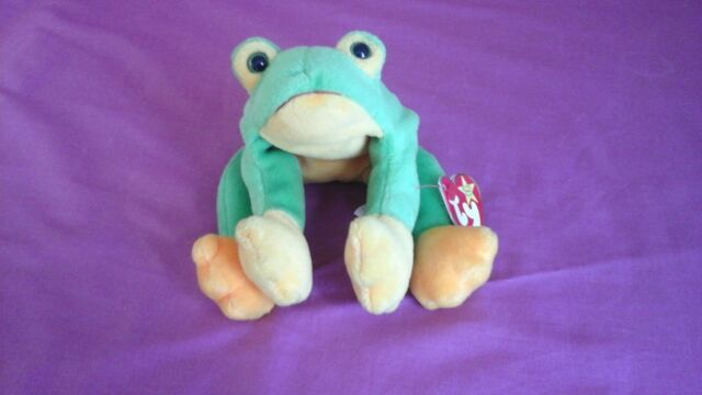 3ed36661fa0 TY Beanie Babies - Smoochy Frog 1997 for sale online