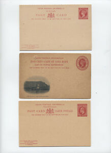 Three-Victoria-and-Edward-VII-stationery-items-Cape-Natal-Transvaal-y2464