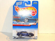 1999 FORD MUSTANG #909 PURPLE FIRST EDITION 1999 HOT WHEELS