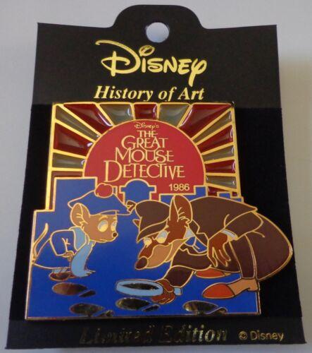 Disney Histoire D'art The Great Souris Detective 1986 Basil Broche Le 1800