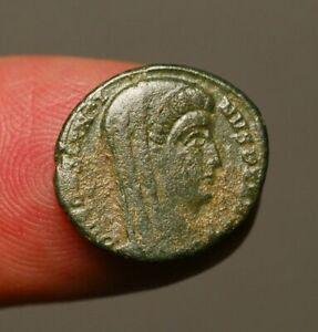 R18-28-Divus-Constantine-I-death-commemorative-Veiled-head-struck-AD347-348