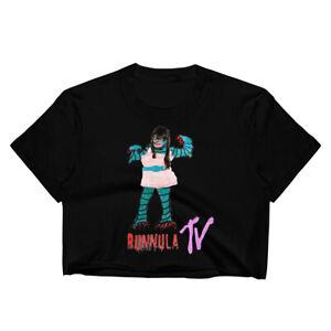 Bunnula-TV-039-s-Katy-Perry-Creature-From-The-Black-Lagoon-Crop-Tee