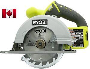 NEW Ryobi One P504G 18V Cordless Circular Saw 5-1/2 inch Tool Only