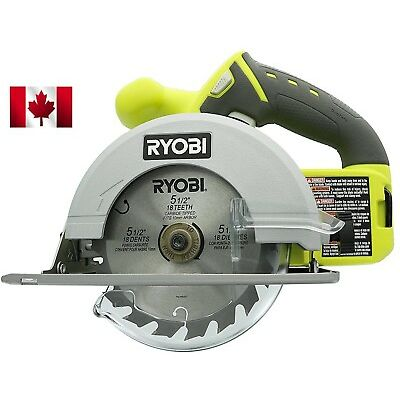 NEW Ryobi One P504G 18V Cordless Circular Saw 5-1/2 inch Tool Only