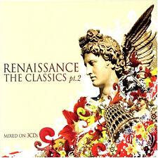 RENAISSANCE CLASSICS 2 - 3 X CDS MIXED OLDSKOOL PIANO HOUSE / RAVE 90S CDJ DJ