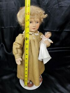 R-John-Wright-034-Lindsay-Molded-Felt-Doll-Babes-in-Toyland-Collection-w-tag