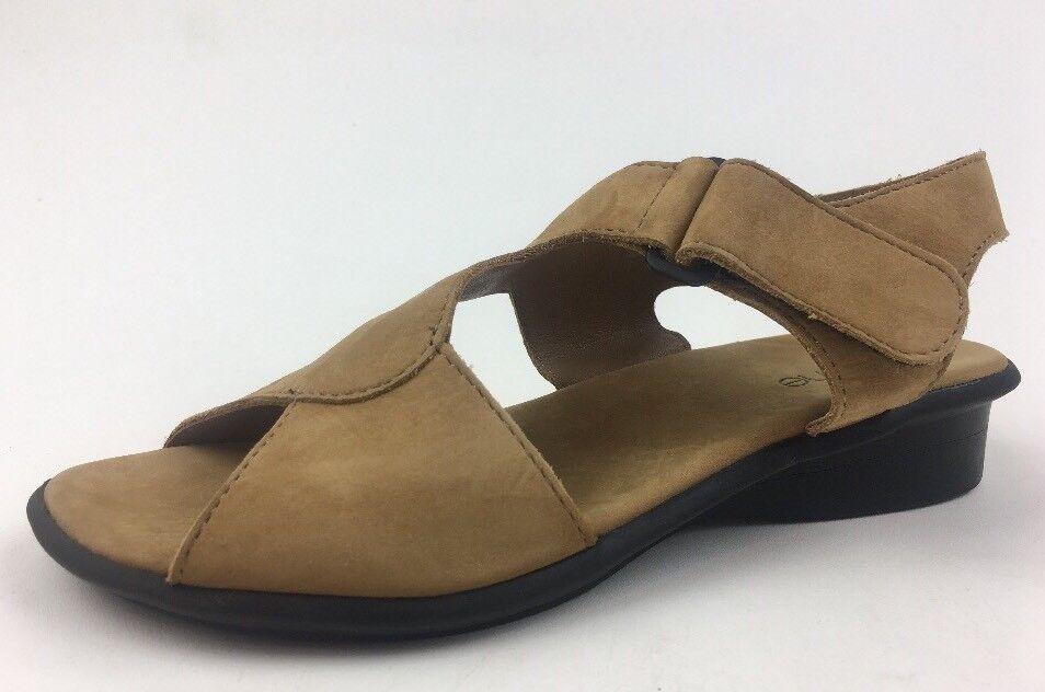 ARCHE kvinnor MAN FRARRE5533;, S Sanora Sanora Sanora Fauve Nubuck läder Sandals Storlek 36, Sand 469  lägsta priserna