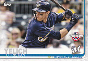 2019-TOPPS-OPENING-DAY-CARD-39-CHRISTIAN-YELICH-MILWAUKEE-BREWERS