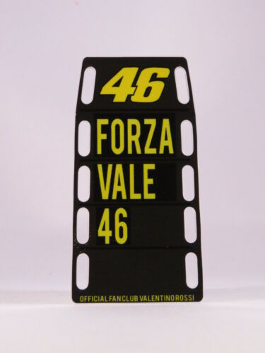 """1//12 Valentino Rossi Pit Boards banner Stand Boîte GP Misano 2014 /""""force Vale"""