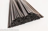PP Plastic welding rods mix black 100pcs  /polypropylene/ car bumpers repairs