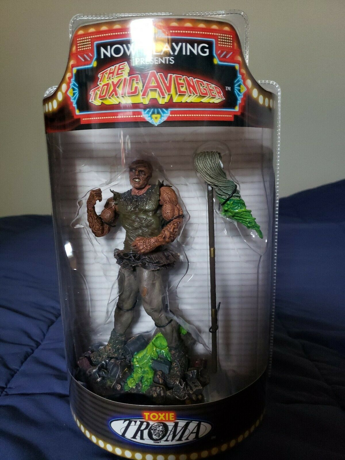 RARE  SOTA NOW PLAYING PRESENTS THE TOXIC AVENGER TOXIE FIGURE TROMA 2004