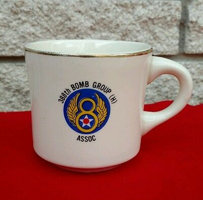 WWII 388th Bombardment Group Coffee Mug Association Reunion Bombers Air Force