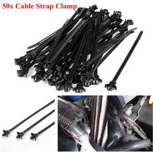 s l300 car automotive cable strap push mount wire tie retainer clip clamp