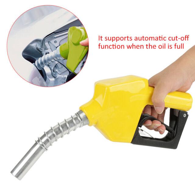 Fuel Nozzle Dispensing Diesel Fuel Auto Shut-off Nozzle Hose Trigger Gun 3/4BSP