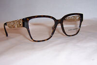 Dolce & Gabbana Eyeglasses Filigrana Dg 3186 Havana 502 53mm Authentic