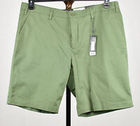 The Men's Store Bloomingdale's Mens Green 100% Cotton Casual Shorts 40