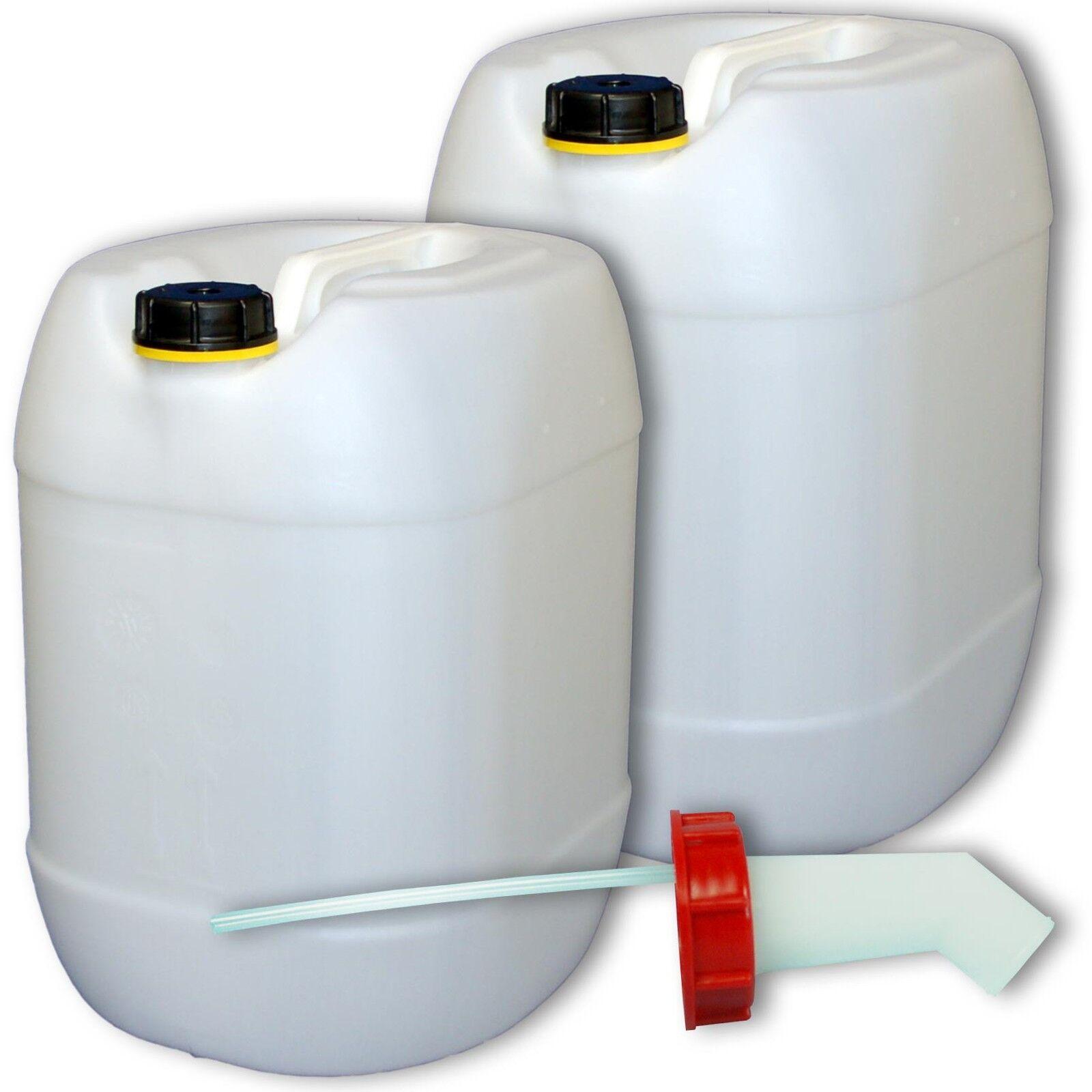 Bidon plastique 20 L DIN 61 + 1 1 1 bec verseur, PEHD, Fab. en Allemagne (22002+019) 5a7da1