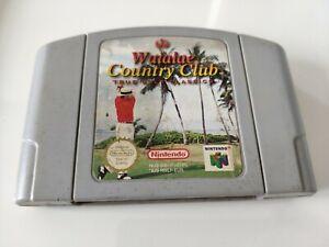 Waialae Country Club Golf N64 Juego-Nintendo 64 PAL-Libre P&P