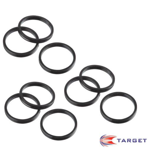 9 TARGET Dart Shafts Schäfte 2BA Kunstsoff Pro Grip Vision Intermediate 41 mm