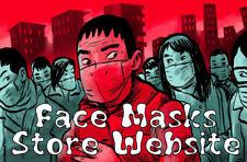 Ecommerce Online Face Masks Shop Store Amazon Affiliate Website