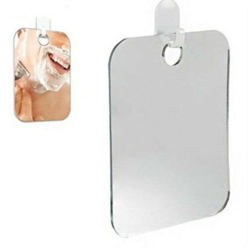 Anti Fog Shower Mirror Bathroom Fogless Fog Free Mirror Washroom Travel Gray US