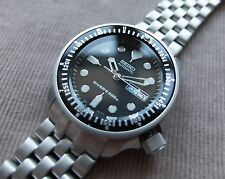 SUPERB Seiko mod Divers SKX 007 bead blasted
