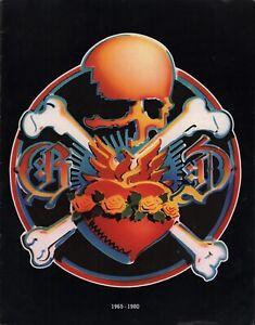 GRATEFUL-DEAD-1980-15th-ANNIVERSARY-TOUR-PROGRAM-BOOK-JERRY-GARCIA-NM-2-MINT