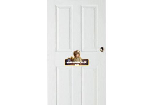Lego Star Wars /'Luke Skywalker/' Personalised Name Plate//Door Sticker