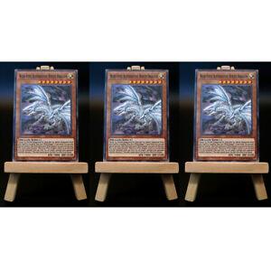 Yugioh-proxy-3x-Playset-Blue-Eyes-alternativa-White-Dragon-card-mapa-Custom