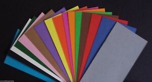 A4-CARD-Pack-of-20-Sheets-NEW-Cardstock-Black-or-u-choose-color