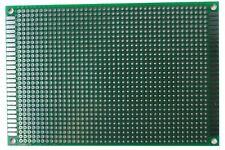 1 Pcs Double Sided Universal Pcb Proto Prototype Perf Board 812 8 X 12 Cm