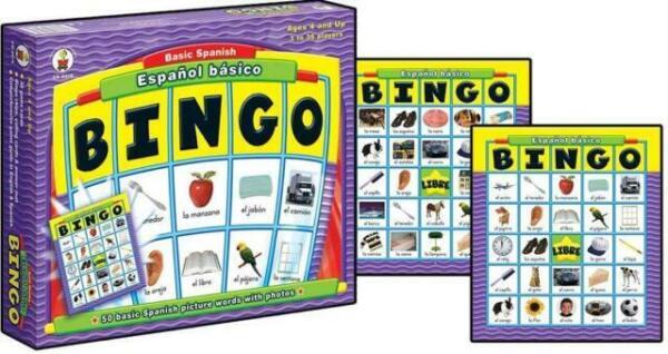 Juego De Bingo En EspaГ±ol