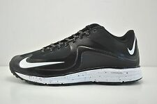 Mens Nike Lunar MVP Pregame 2 Turf Shoes Sz 9.5 Black White 684690 010 Baseball