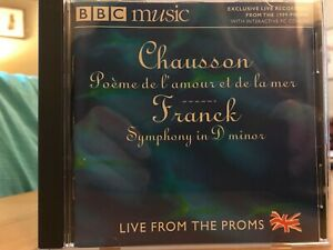 CHAUSSON_POEME DE L'AMOUR ET DE LA MER_FRANCK_SYMPHONY D MINOR_ROOCROFT_BBCMUSIC | eBay
