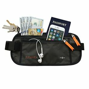 Travel-Money-Belt-RFID-Blocking-Waist-Wallet-Hide-amp-Protect-Your-Phone