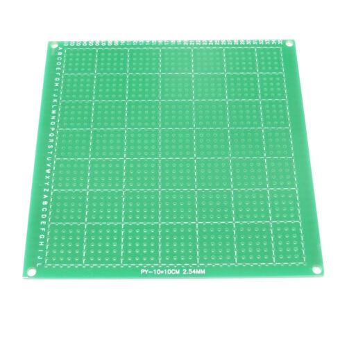 Circuito de soldadura de cobre revestido de una sola cara PCB Placa FR4 Fibra De Vidrio 10 cm X 10 Cm