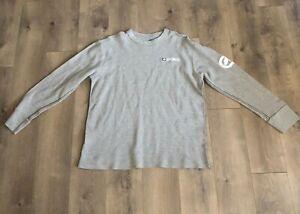 Ecko-Unltd-Logo-Rhino-Authentic-Men-039-s-Light-Gray-Long-Sleeve-T-shirt-Size-XL